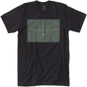 Hippy Tree El Cap Camiseta Hombre, black